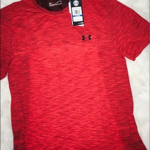 Under Armour Shirts - Under Armour Rust Orange Mica short sleeves sz XL